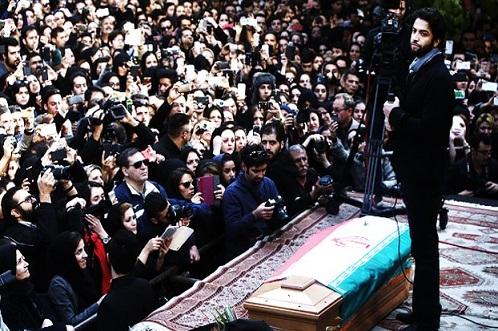 دانلود فیلم اجرای بنیامین در ختم مرتضی پاشایی